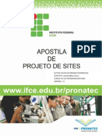 Apostila de Projeto de Sites