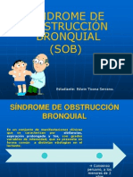 Sindrome Obstructivo Bronquial en Pediatría