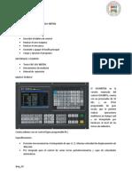 Informe de La Utilizacion Del Torno GSK980TDb