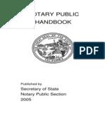 Notary Handbook 2005