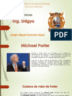 Cadena de Valores Michael Porter