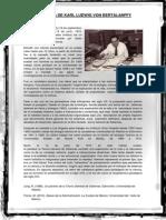 Biografía de Karl Ludwig Von Bertalanffy