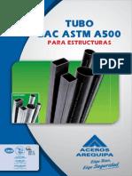 Aceros Arequipa TUBO LAC A500