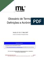 Glossario - ITILv3