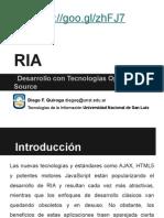 RIA Desarrollo Con Tecnologías Open Source