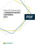 Analise Financeira e Demonstracoes Contabeis 2012
