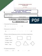 Evaluacion Inicial Matematicas 1c2ba a 6c2ba Primaria Apoclam