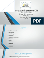 Amazon Dynamo DB - presentation