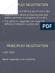 713 Negotiation