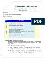 Communication -Advisory for May 31 -2014
