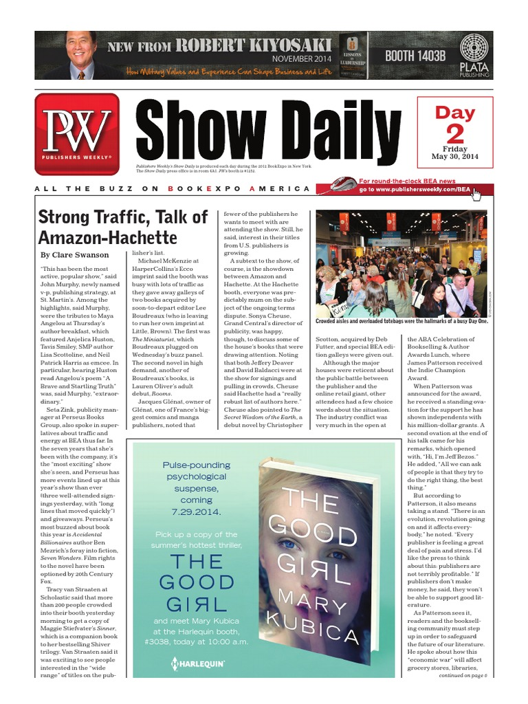 Pw show daily may 30 day 2 e reader e books fandeluxe Images