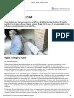 Página_12 __ El País __ Pensar La Crueldad