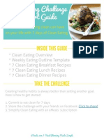 TGP Clean Eating Jump Start Guide