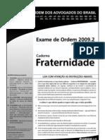 Exame OAB 2009-2 Prova Objetiva - Caderno Fraternidade