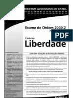 Exame OAB 2009-2 Prova Objetiva - Caderno Liberdade