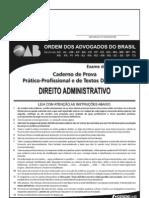 Exame OAB 2009-2 Prova Prático Profissional - Direito Administrativo