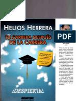 Tu Carrera Despues de La Carrera - Helios Herrera Ligera