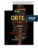 Principles and Practices of Outcomes Based Training & Education