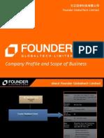 Founder Globaltech Corporate Presentation