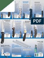 Spyderco Catalog Supplement