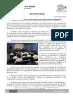 29/05/14 MÉDICOS DE LOS SSO EN DIPLOMADO DE INVESTIGACIÓN OPERATIVA