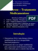 Artrose - Tratamento Medicamentoso1