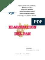 Elaboracion Del Pan. Emily Contreras