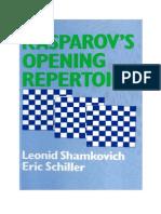 Kasparov's Opening Repertoire(v,154)
