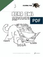 ColoringPages_BearOwl