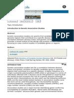Bahan Studi Asosiasi Genetik 3
