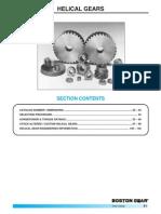 Catalogo Engranes Helicoidales