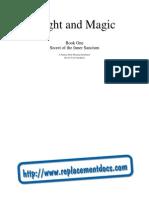 Might and Magic - Book I [Manual]