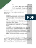 La Didactica No Parametral