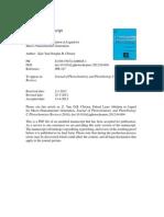 Pulsed Laser Ablation in Liquid_2012