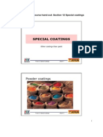 Special Coatings