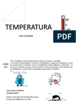 La Temperatura (Julia Escobar)