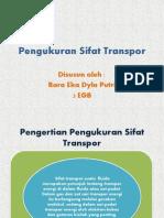 Pengukuran Sifat Transpor Ppt