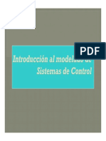 Modelado de sistemas de control