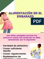 Alimentación en El Embarazo
