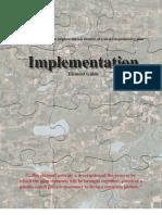 Implementation Element Guide