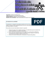 Tabla Herramientas de Evaluación de Evidencias