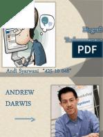 Presentasi Andrew Darwis