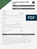 Enrolment Form 2014 Fillable1