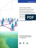 World Bank/GEF/PEMSEA Medium-Sized Project Applying Knowledge Management to Scale up Partnership Investments for Sustainable Development of Large Marine Ecosystems of East Asia and their Coasts