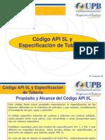 Cp2-Código API 5L y Especificación de Tubería