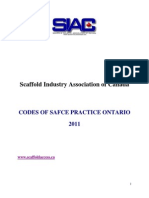 Codes of Safe Practice Ontario-2011