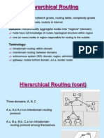 Heirarchial Routing