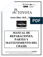 Manual de TOYOTA Hilux
