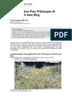 Mas Febaryanto__Menampilkan Peta Wikimapia Diwebsite Atau Blog