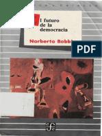 Bobbio, Norberto - El Futuro de La Democracia